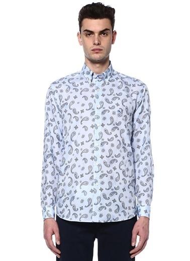 Şal Desenli Uzun Kollu Gömlek-Etro